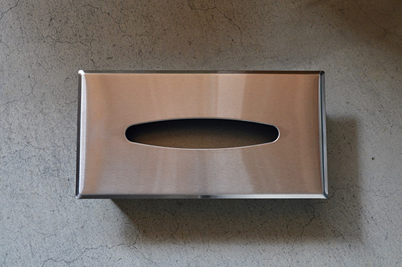 RECESSED TISSUE DISPENSER