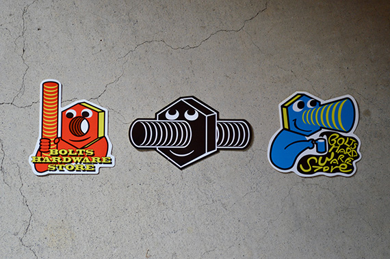 BOLTS STICKER