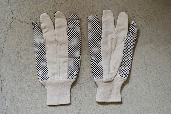 Work Gloves w/PVC Dots